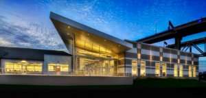 Blue Water Convention Center, Port Huron, MI - Metal Panel - Glass Design Inc
